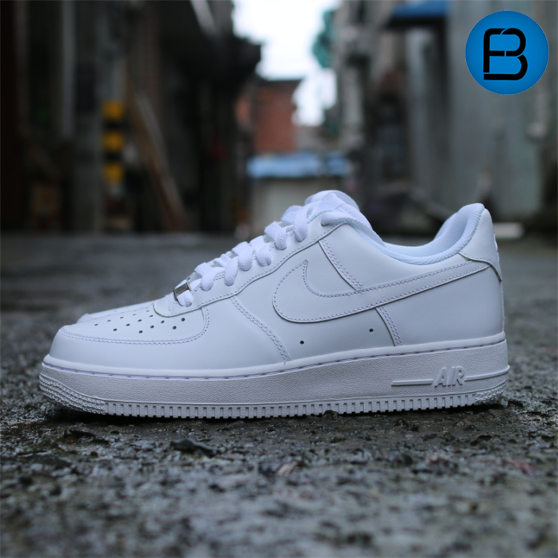 识货 AIR FORCE 1 AF1全白全黑 315122-111-001/315115-112-038
