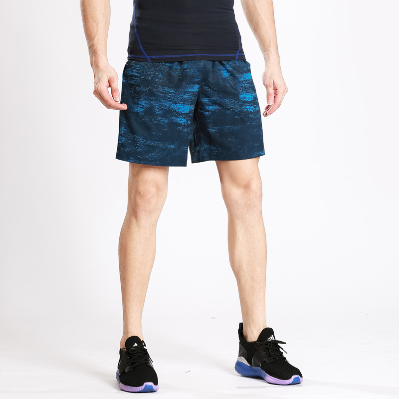 Mens sports Capris outdoor running fast dry Breathable leisure beach basketball pants gym camouflage shorts