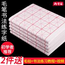 初学者张书法专用纸作品纸四尺生宣熟宣国画100半生半熟宣纸批发