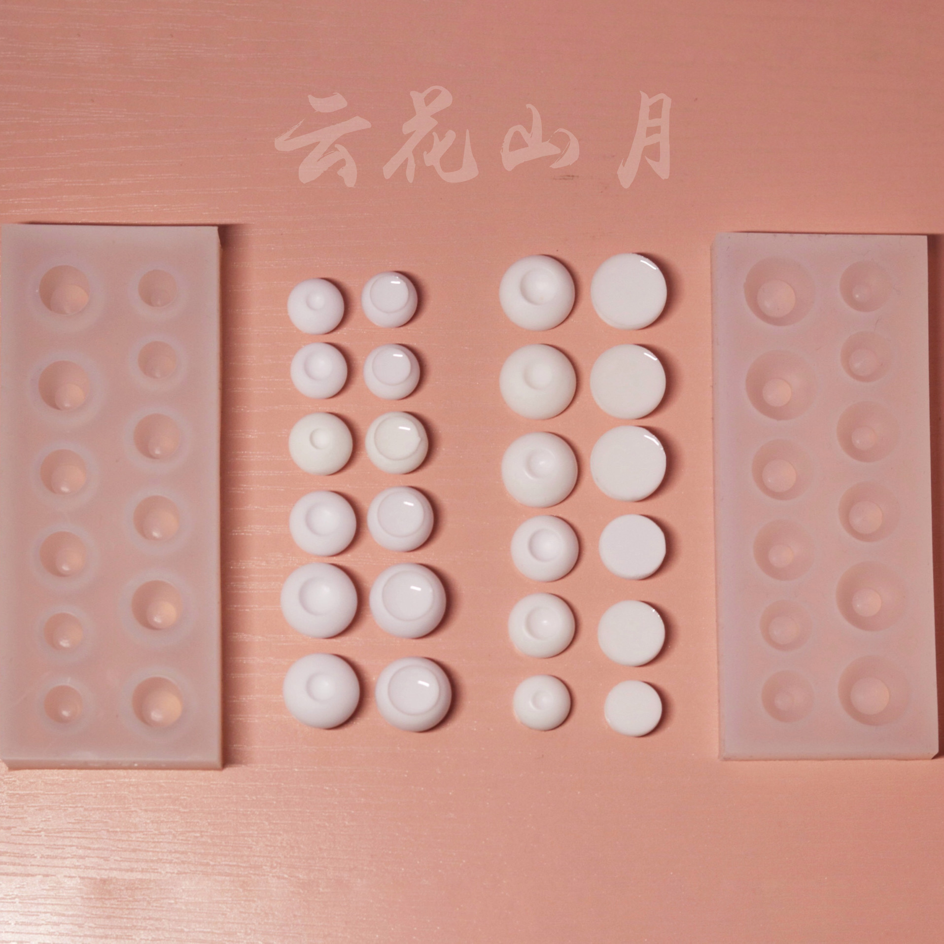 BJD resin eye mold baby eye material chessboard eye sole joint mold self made group purchase spot