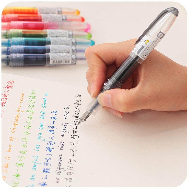 日本百乐钢笔PILOT元气小钢笔SPN20F练字用万年笔学生成人钢笔F尖