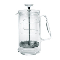 Italian original imported Guzzini hand pressure pressure pot 1000ml Double-layer filter tea making coffee pot