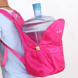 新款轻便大容量超轻防水旅游可折叠户外双肩包休闲旅行背包男女
