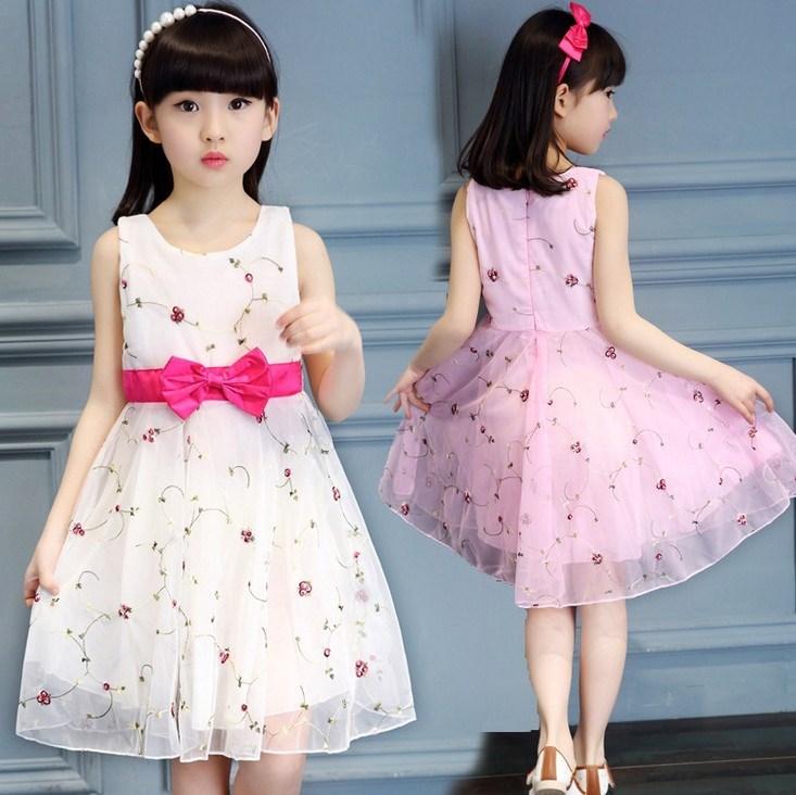 限时抢购3儿童装6女童连衣裙5 10公主裙子