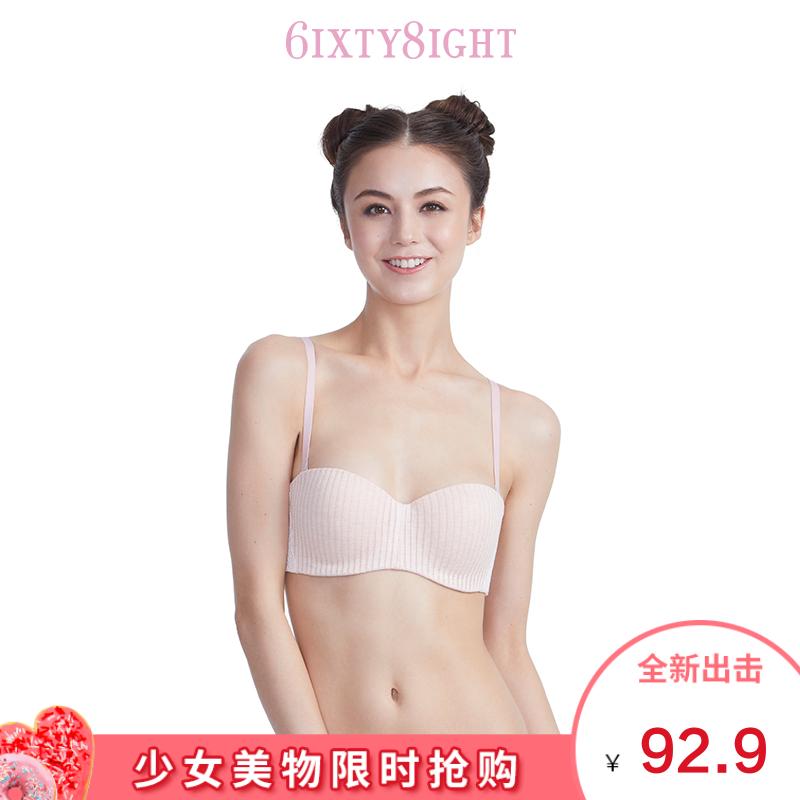6IXTY8IGHT 68莫代尔舒适蕾丝少女文胸罩内衣女士BR06126