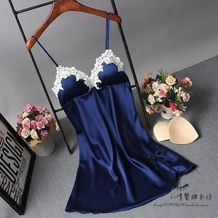 Каждый день специальное предложение весна строп лифчик дамское белье женщина лето модель шелк льда шелк ночное белье сексуальный восторг пижама домой одежда