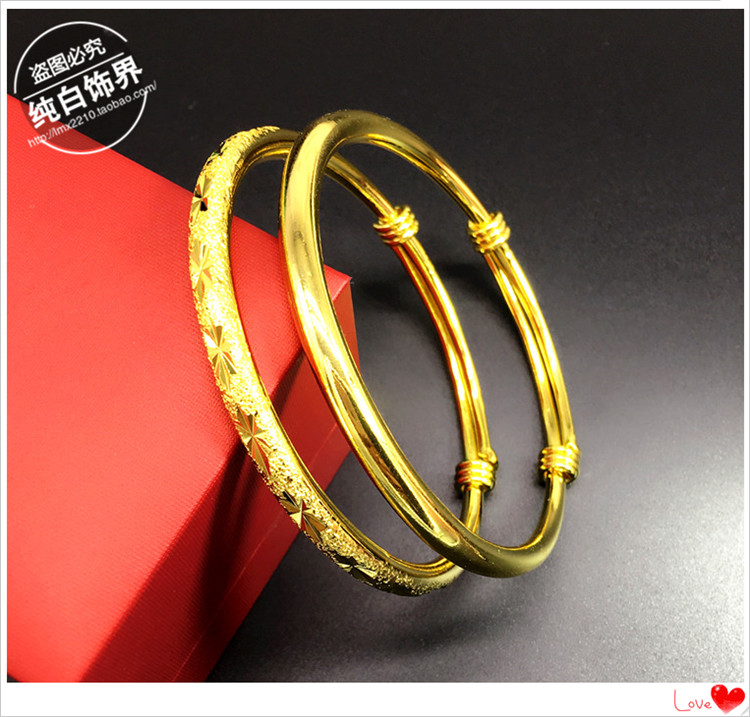5毛五毛5角硬币手镯镀金手镯纯铜手镯镀黄金送妈妈礼物新娘手环