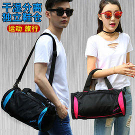 短途旅行包女大容量手提行李包袋轻便运动健身包男游泳足球训练包图片