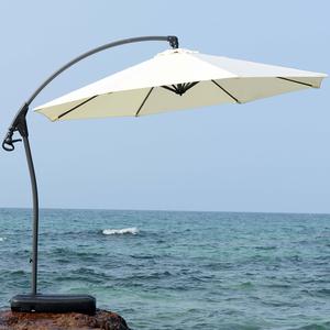 户外遮阳伞太阳伞大型室外庭院伞摆摊伞休闲家具伞罗马伞折叠3米图片