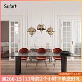 舒梵北欧餐桌家用现代简约实木小户型欧式餐桌轻奢ins风网红饭桌