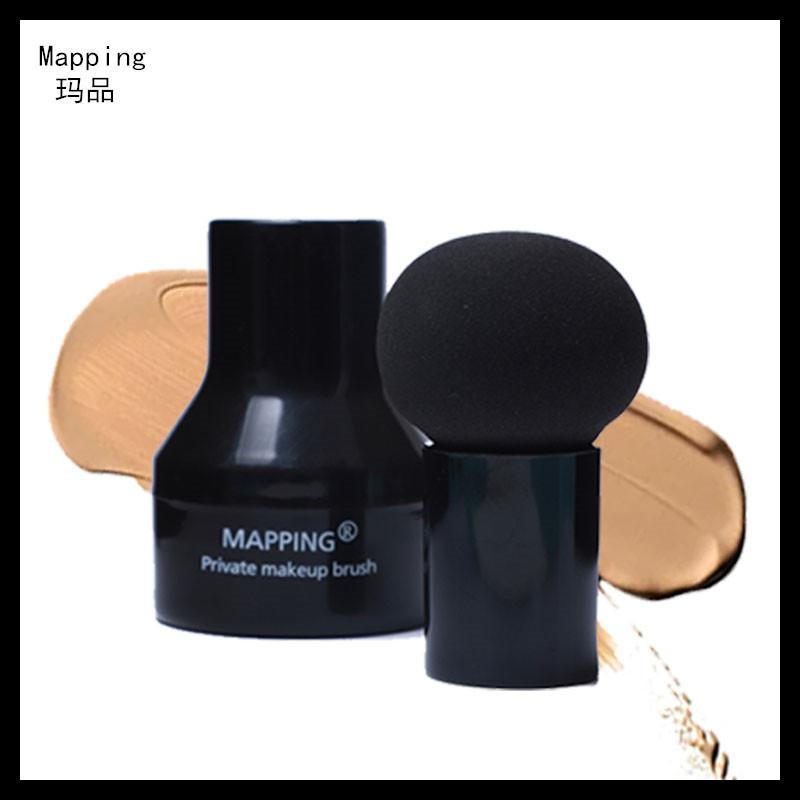 Mapping萌え丸頭マッシュルームヘッド化粧スポンジパフェBBクリーム乾燥両用