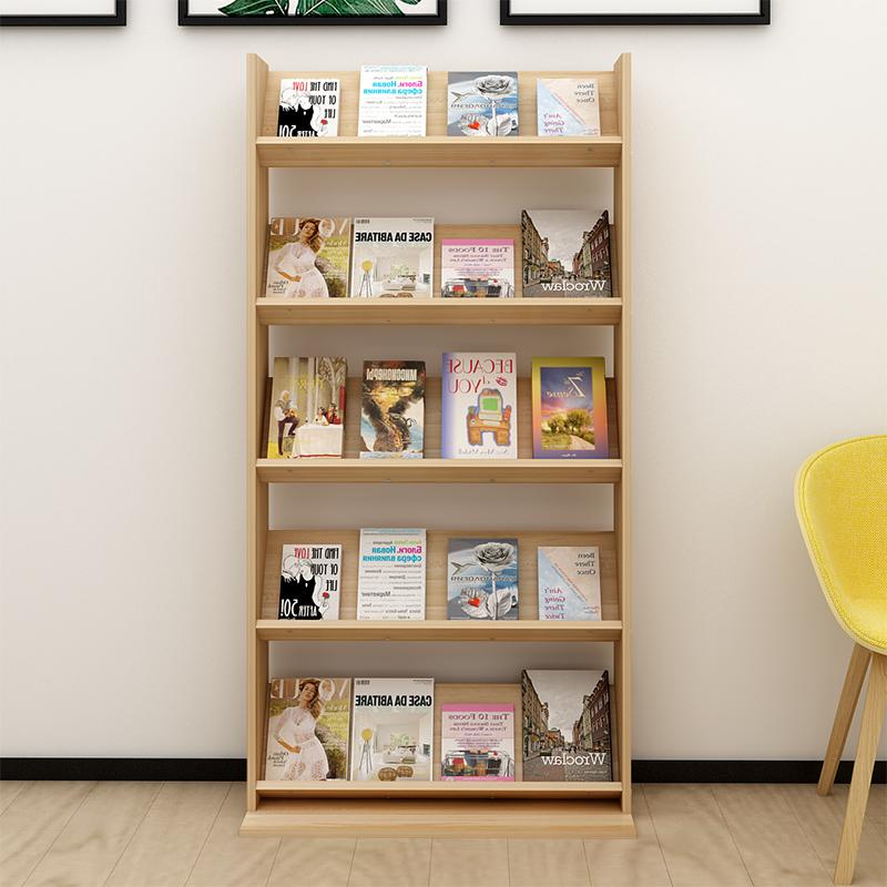 Посадочные стеллажи из массивной древесины детские Сводка журналов для книг и журналов