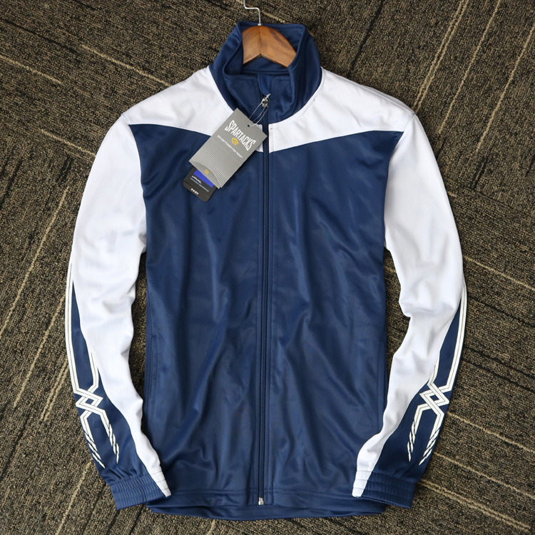 Foreign trade European single meijinjia sports jacket, comfortable and smooth fabric, large size