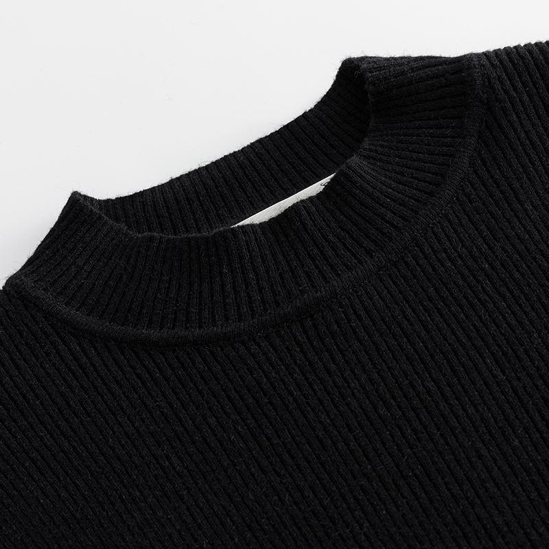 进口专柜2020新款胖妈妈加肥加大码秋装针织衫显瘦中老年人毛衣打