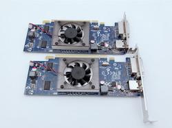 原装AMD HD6450 1GB独立显卡 半高全高台式机 静音 HDMI游戏刀卡