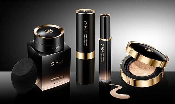 South Koreas original LG new product recommends Ou Hui OHUI Concealer foundation, sunscreen, whitening and wrinkle resistant.