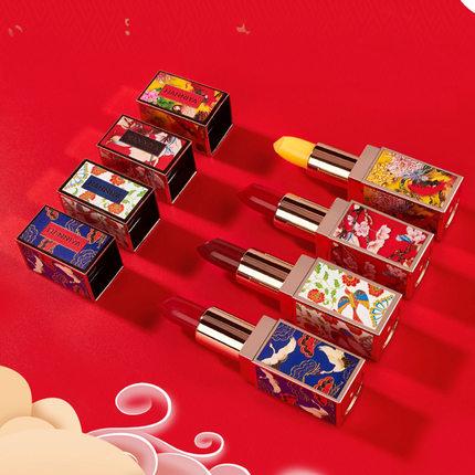 上新了故宫中国风联名口红限量版合作款平价小众口红学生款唇膏女