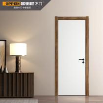 欧铂尼木门家用房门卧室门室内门实木复合门免漆房间门现代诺亚促