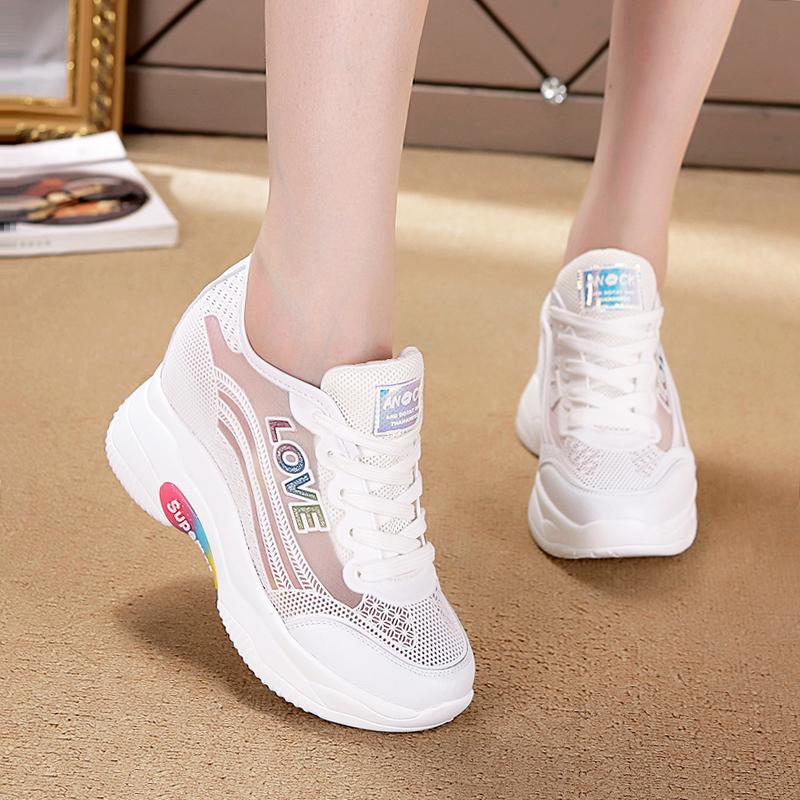 时尚运动凉鞋今年夏天流行的蛋糕女鞋子土包脚趾不漏女装2019新款