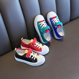 2020年春秋新款布鞋夏季韩版儿童帆布鞋童鞋男童鞋子板鞋女童