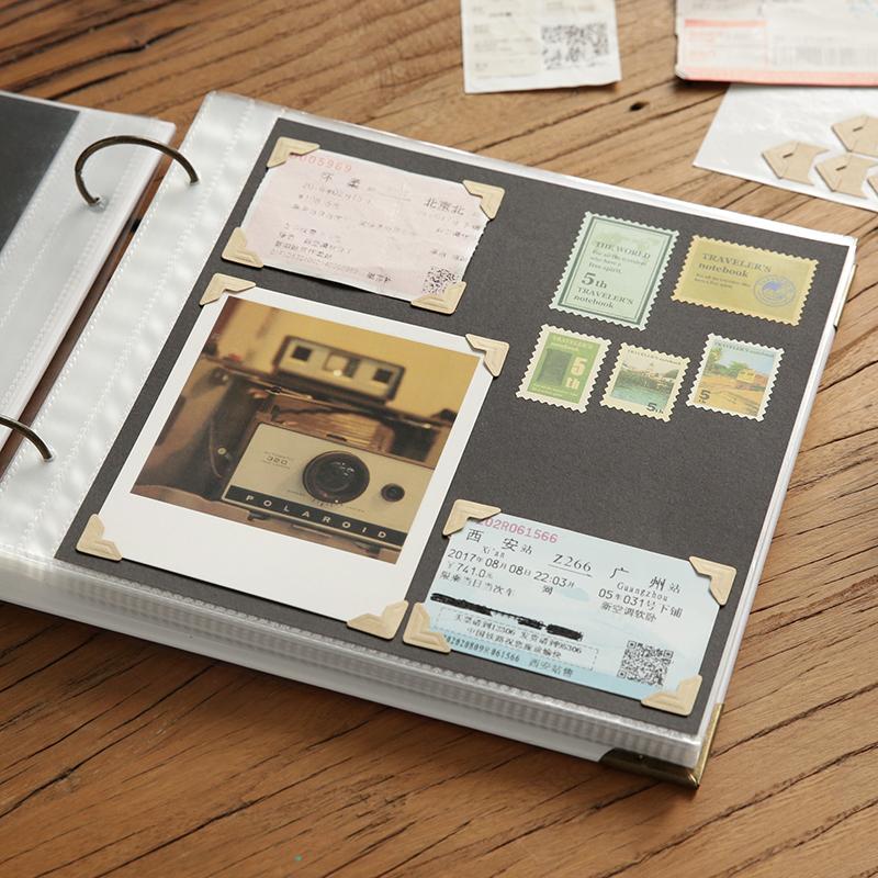 券后45.51元手绘本生日礼物闺蜜回忆录DIY粘贴式相册本插页式拍立得情侣手工