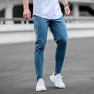 健身小脚裤 运动裤 速干裤 轻薄弹力速干修身 健身裤 ongoing运动长裤