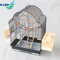 Xuan Feng Tiger Parrot cage luxury large birdcage octopus cage large metal peony wren brother breeding cage A25