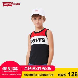 领50元券购买Levi's童装2019春夏新款男童针织背心92621TT932