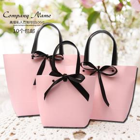 礼袋礼品袋子精美韩版创意高档包装伴手礼物袋手提袋纸袋定制logo