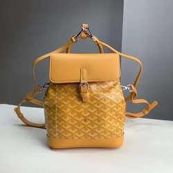Goyard戈雅新款翻盖小书包 mini手提包大容量背包 斜跨女包双肩包