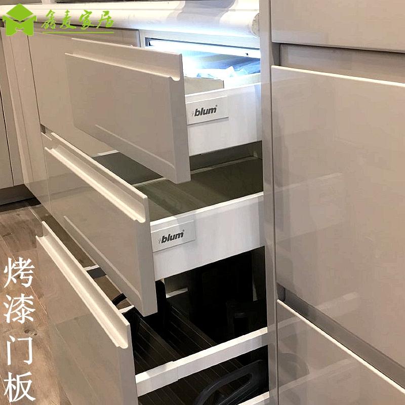 欧式多层实木烤漆门板 汽车漆钢琴漆 整体厨房橱柜衣柜门板定做