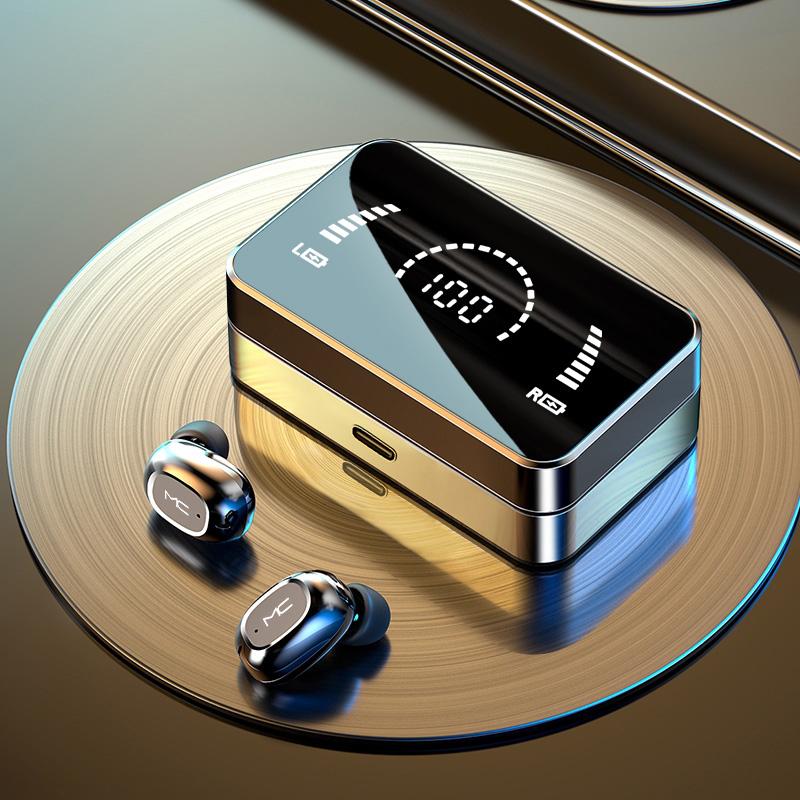 适用华为P40pro智能休眠蓝牙耳机p40无线免游戏可接电话p40p白色p