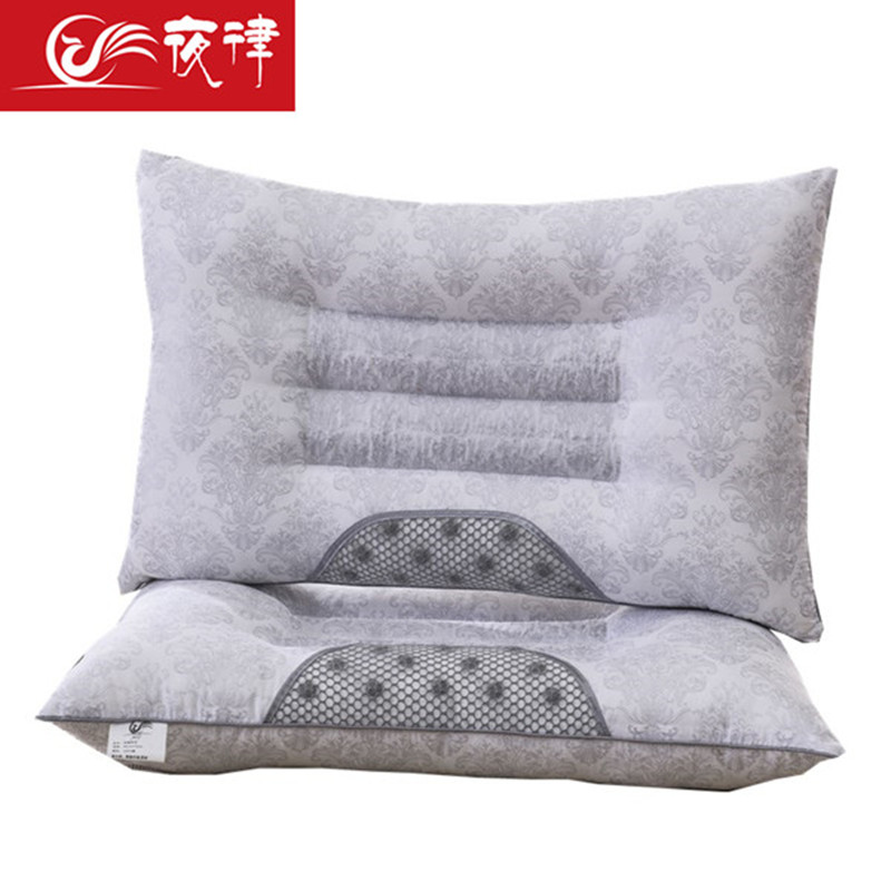 夜律 决明子保健枕护颈椎枕头磁石枕芯成人枕芯 48X74CM