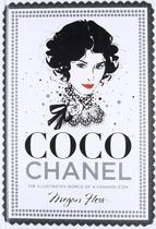 现货原版Coco Chanel: The Illustrated World of a Fashion Icon香奈儿时尚服装插画手绘手稿