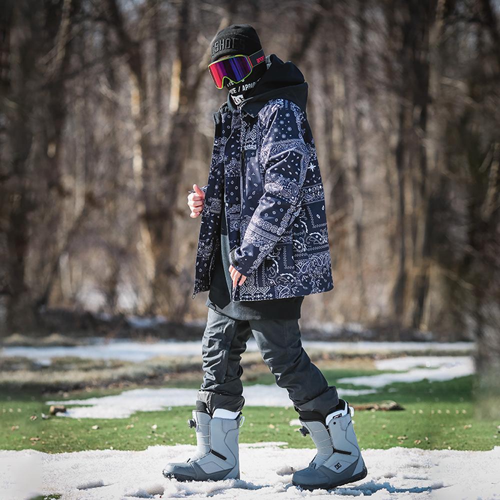 傲天极限2122新款DC滑雪服BANDWIDTH男款单板滑雪成人防水保暖