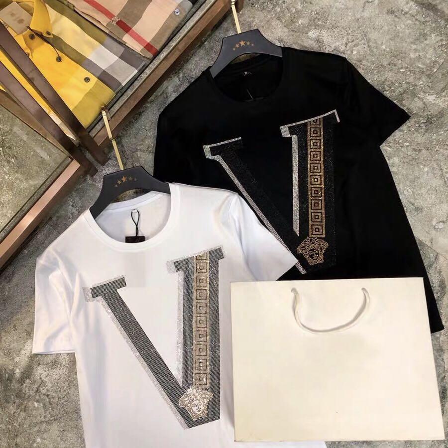 重工芸のドリルデザインのファッションファッションファッションの潮流は男性用です。