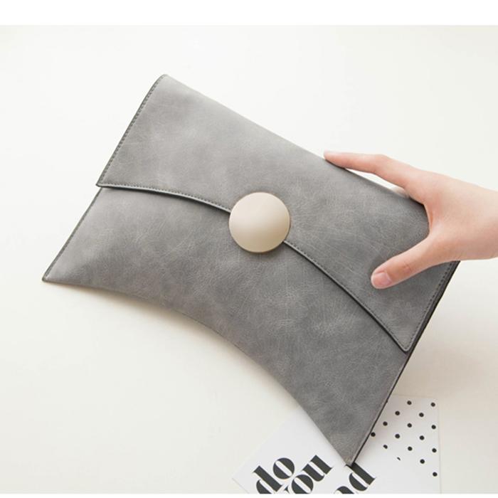 2019 Korean new crescent large capacity envelope bag simple hand bag versatile chain shoulder bag womens bag