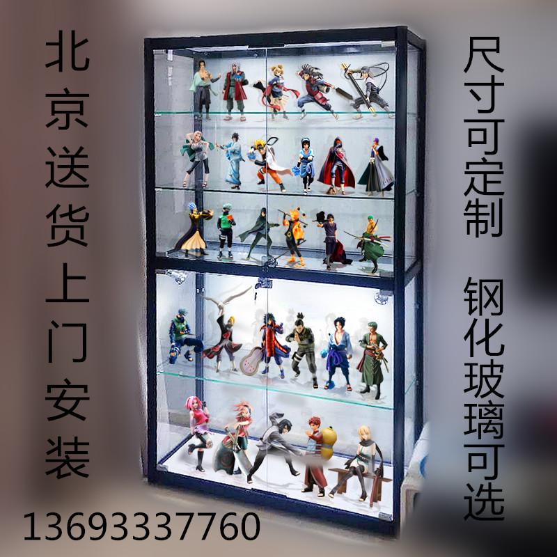 乐高高达动漫陈列柜模型柜玻璃柜限时2件3折