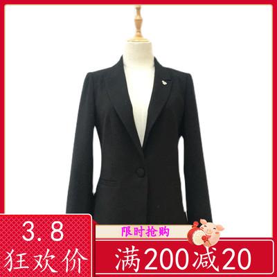 陌绯JR2550 短款小西服女装2021新款春装韩版修身气质西装外套