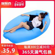 气垫床户外三层双人卡通靠背家用单人折叠床加厚加高自动充气床垫