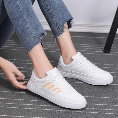 回力女鞋板鞋透气小白鞋春季滑板鞋百搭厚底白色学生休闲鞋运动鞋