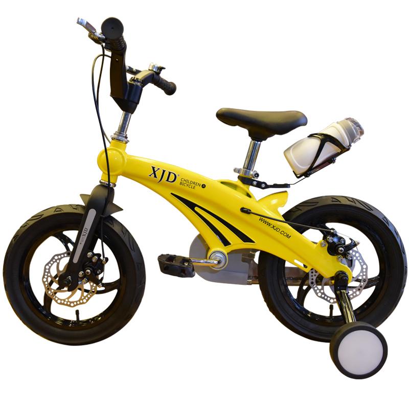 XJD兒童自行車3~6歲小孩12 14 16寸男女寶寶腳踏鎂鋁合金山地單車