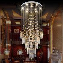 酒店大堂大型工程灯售楼部枫叶吊灯飞鸟装饰灯树叶蝴蝶艺术灯定制