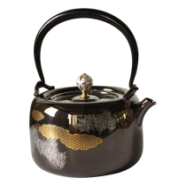 Shi Jindao Stainless steel tea pot health cooking kettle Kung Fu Tea tea making heat-resistant high-temperature beautiful and practical