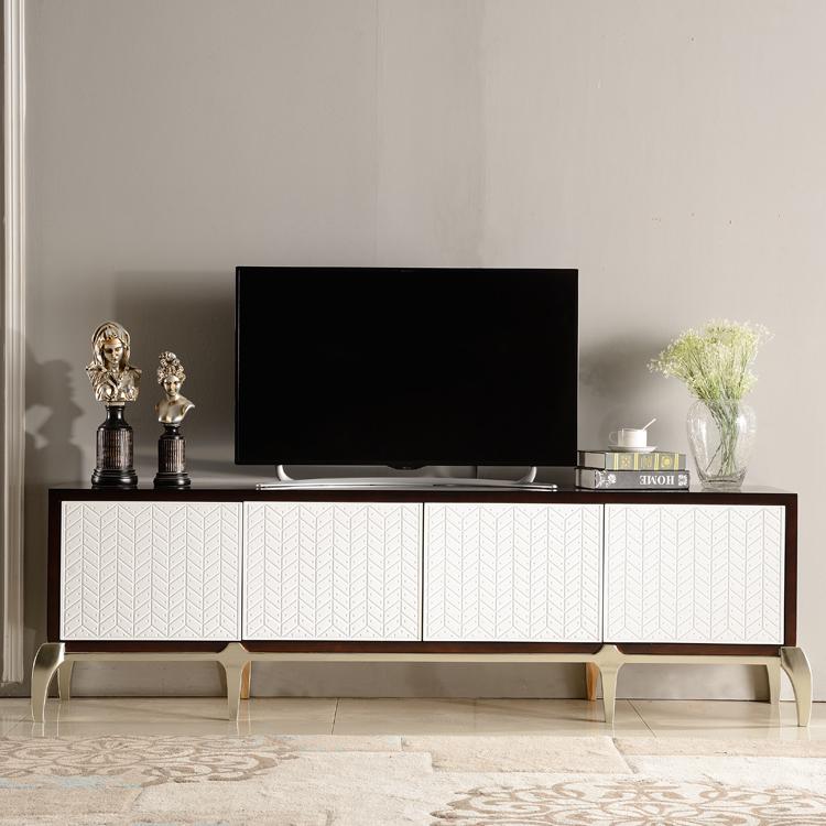 美式实木电视柜现代简约客厅斗柜储物柜小户型北欧实木家具装饰柜