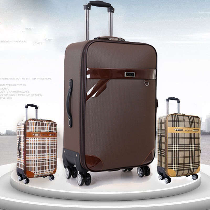 Large capacity suitcase boy student waterproof Trolley Case universal wheel password suitcase suitcase 24 28 inch cloth case