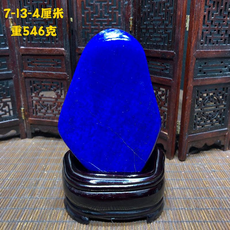 Natural King lapis lazuli, raw stone, raw stone, rare stone, ornamental stone, mineral, living room, porch, study, decoration, home furnishing