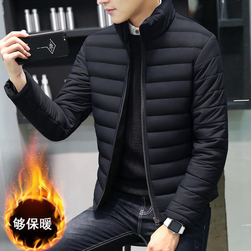 清仓特价男式羽绒精致韩风小棉袄