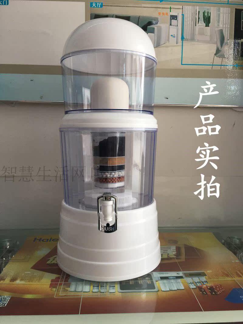 饮水机过滤桶立式家用自来水净水器直饮带桶净化一体机陶瓷过滤