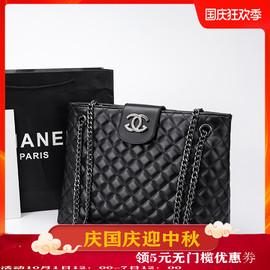 香港名牌包包女包新款2020大容量真皮单肩斜挎小香风菱格链条包潮